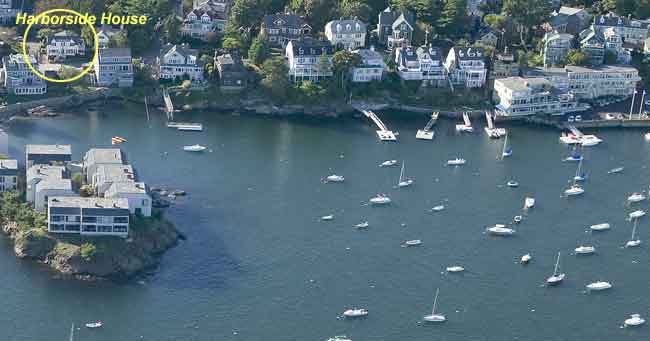 Harborside House and Marblehead Harbor
